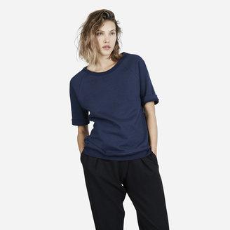 Everlane The Short Sleeve Sweatshirt