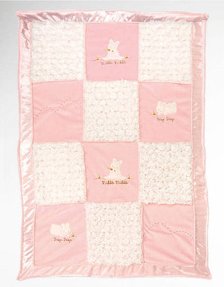Bunnies by the Bay Infants Hop & Nibble Stroller Blanket-Smart Value