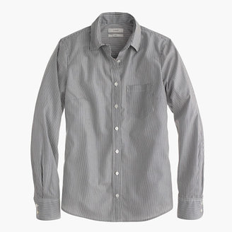J.Crew Everyday shirt in striped poplin
