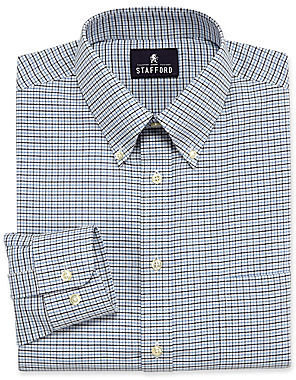 JCPenney Stafford Wrinkle-Free Oxford Dress Shirt