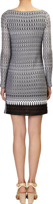Missoni Zigzag-knit Long-sleeve Dress