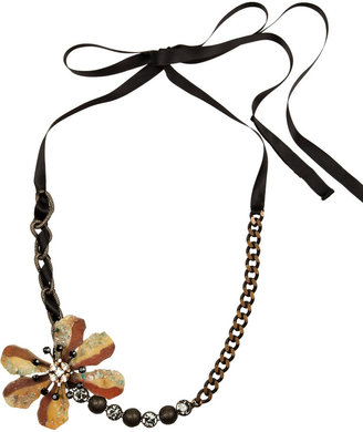 Marni Crystal and stone necklace