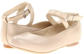 Elephantito French Ballet Flat (Toddler/Little Kid/Big Kid) (Champagne) Girl's Shoes