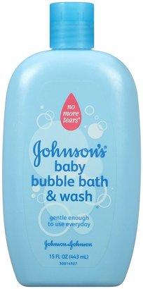 Johnson's Baby Johnson's Bubble Bath & Wash - 15 oz