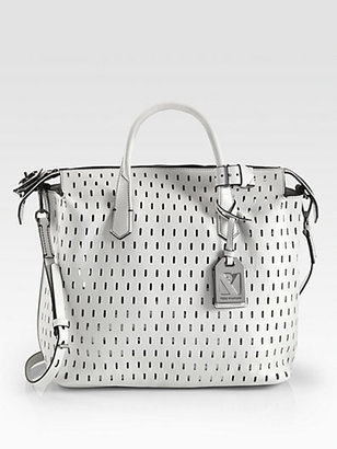 Reed Krakoff Perforated Gym Bag