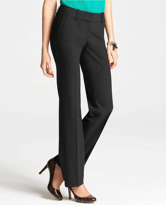 Ann Taylor Petite Signature Tropical Wool Trousers