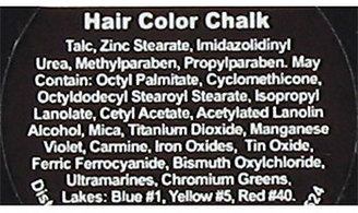 Donna Bella Hair Chalk Yellow