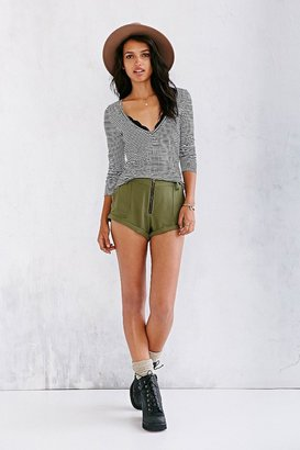 Urban Outfitters Ecote Zip-Front Easy Short