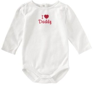 Gymboree I Heart Daddy Bodysuit