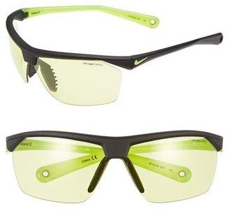 Nike 'Tailwind' 70mm Semi Rimless Sunglasses