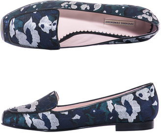 Opening Ceremony Floral jacquard-print flats