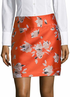HUGO Romis Floral Mini Skirt