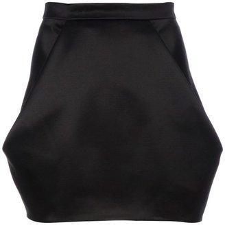 Balmain sculpted mini skirt