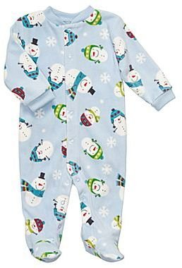 Carter's Microfleece Sleep & Play – Boys newborn-9m