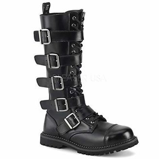 Pleaser USA Men's Riot-20 Buckle Boot