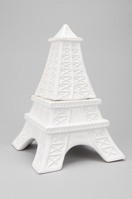 Urban Outfitters Eiffel Tower Cookie Jar