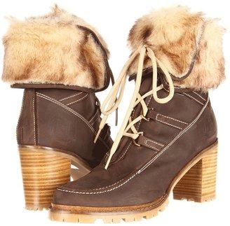 Hunter Eveline (Brown) - Footwear