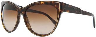 Stella McCartney Sunglasses in Dark Tortoise & Brown Gradient
