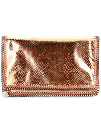 Stella McCartney Falabella fold-over clutch