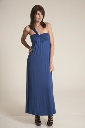 Lauren Conrad Nora Long Dress in Blue Moon $270 thestylecure.com