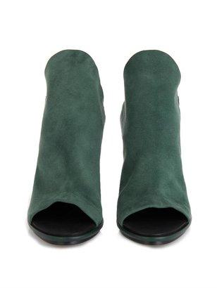 Balenciaga Glove suede slingback sandals