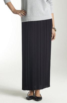 J. Jill Long pleated skirt