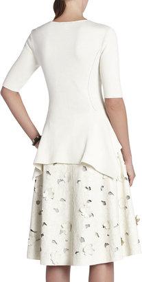 BCBGMAXAZRIA Steffe Handkerchief Pullover