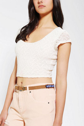 Urban Outfitters Ecote Evil Eye Beaded Belt