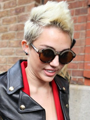 Quay Eyeware OhMi Sunglasses in Leopard Tortoise as seen on Miley Cyrus and Beyonce