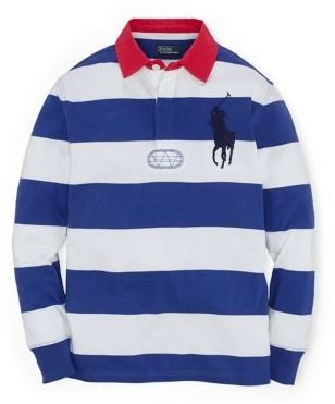 Ralph Lauren Boys 8-20 Long-Sleeve Rugby Shirt