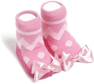 Trumpette Baby-girls Newborn Easter Socks