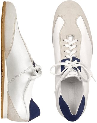 Mariano Napoli Trekker - White Leather and Suede Sneaker Shoes