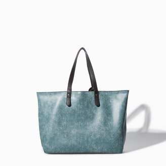Zara Reversible Shopper Bag