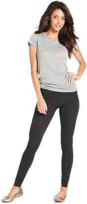 Alternative Apparel Alternative Skinny-Leg Solid Leggings