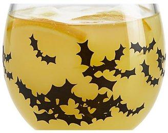 Crate & Barrel Bat Glass