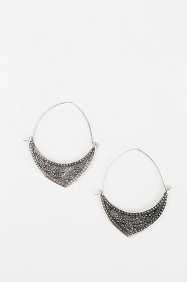 Urban Outfitters Crescent Hoop Earring