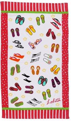 Avanti Lolita Flip Flops Beach Towel (Multi) - Home