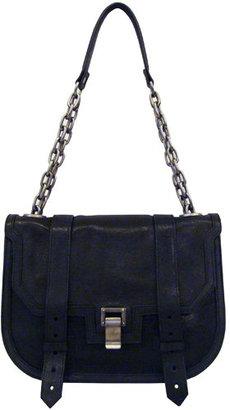 Proenza Schouler Mini Messanger With Chain Handle In Black