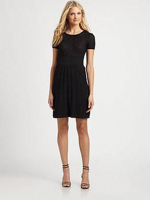 M Missoni Knit Crewneck Dress