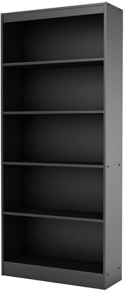 Green Baby South Shore Axess Collection 5-Shelf Bookcase - Solid Black