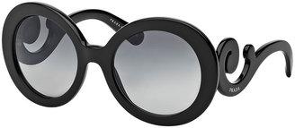 Prada Baroque Sunglasses, Black