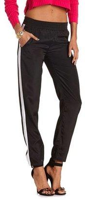Charlotte Russe Side Stripe Soft Pant