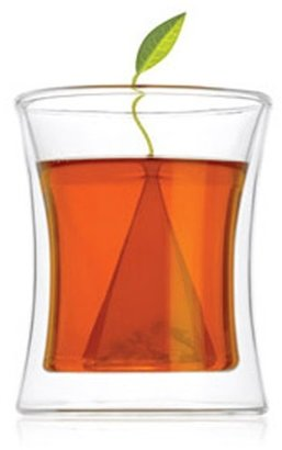 Tea Forte poom double-walled glass