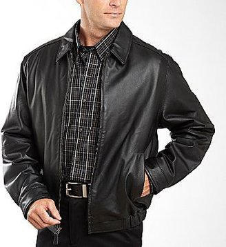 JCPenney St. John's Bay® Leather Jacket – Big & Tall