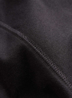 Topman Washed Black Basic Sweatshirt