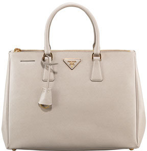 Prada Saffiano Lux Top Handle Tote