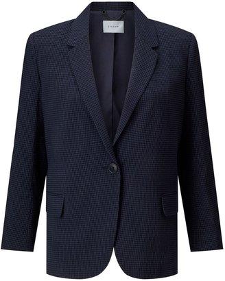 Jigsaw Relaxed Check Portofino Jacket