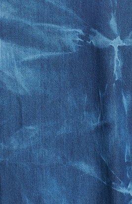 Obey 'Wasted Days' Tie Dye Denim Shirt