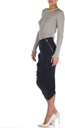 Band Of Outsiders Ruched Pencil Skirt
