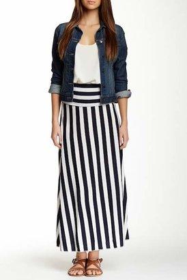 Papillon Striped Maxi Skirt $189 thestylecure.com